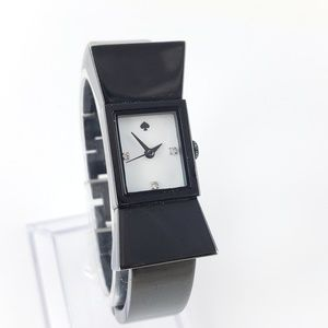 kate spade watch black bow bracelet watch